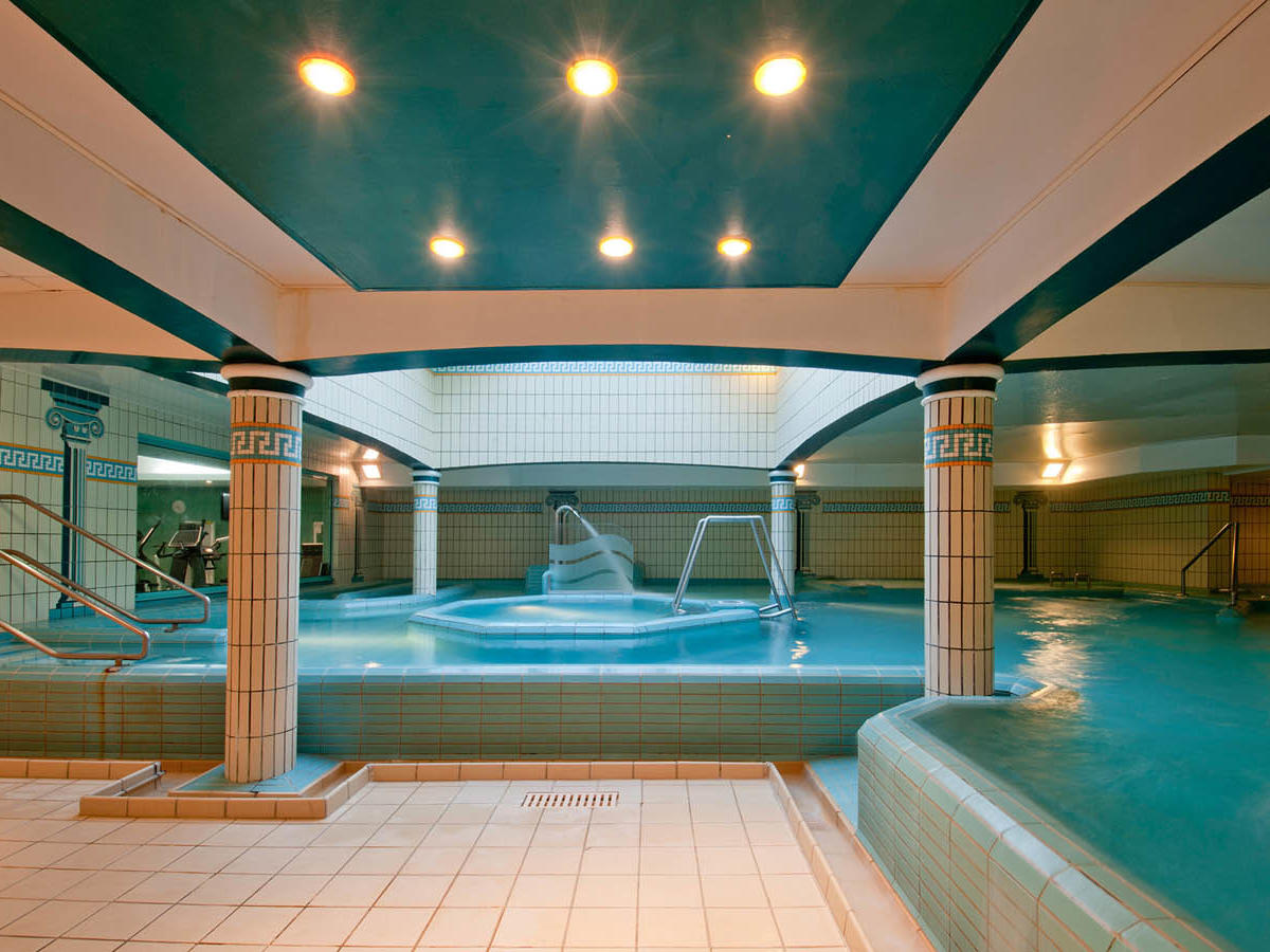 Pool at Grand Hotel des Thermes