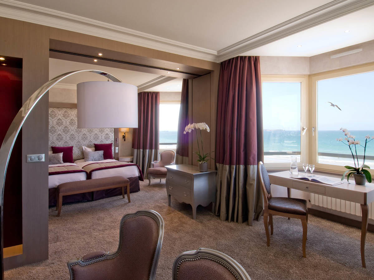 Suite at Grand Hotel des Thermes