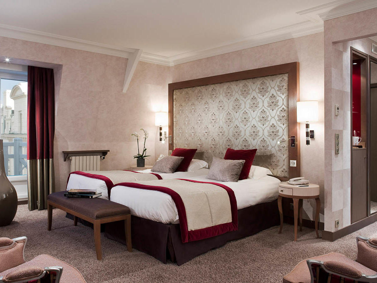 Suite Junior at Grand Hotel des Thermes