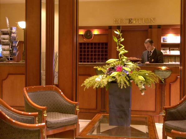 Lobby Martins Grand Hotel