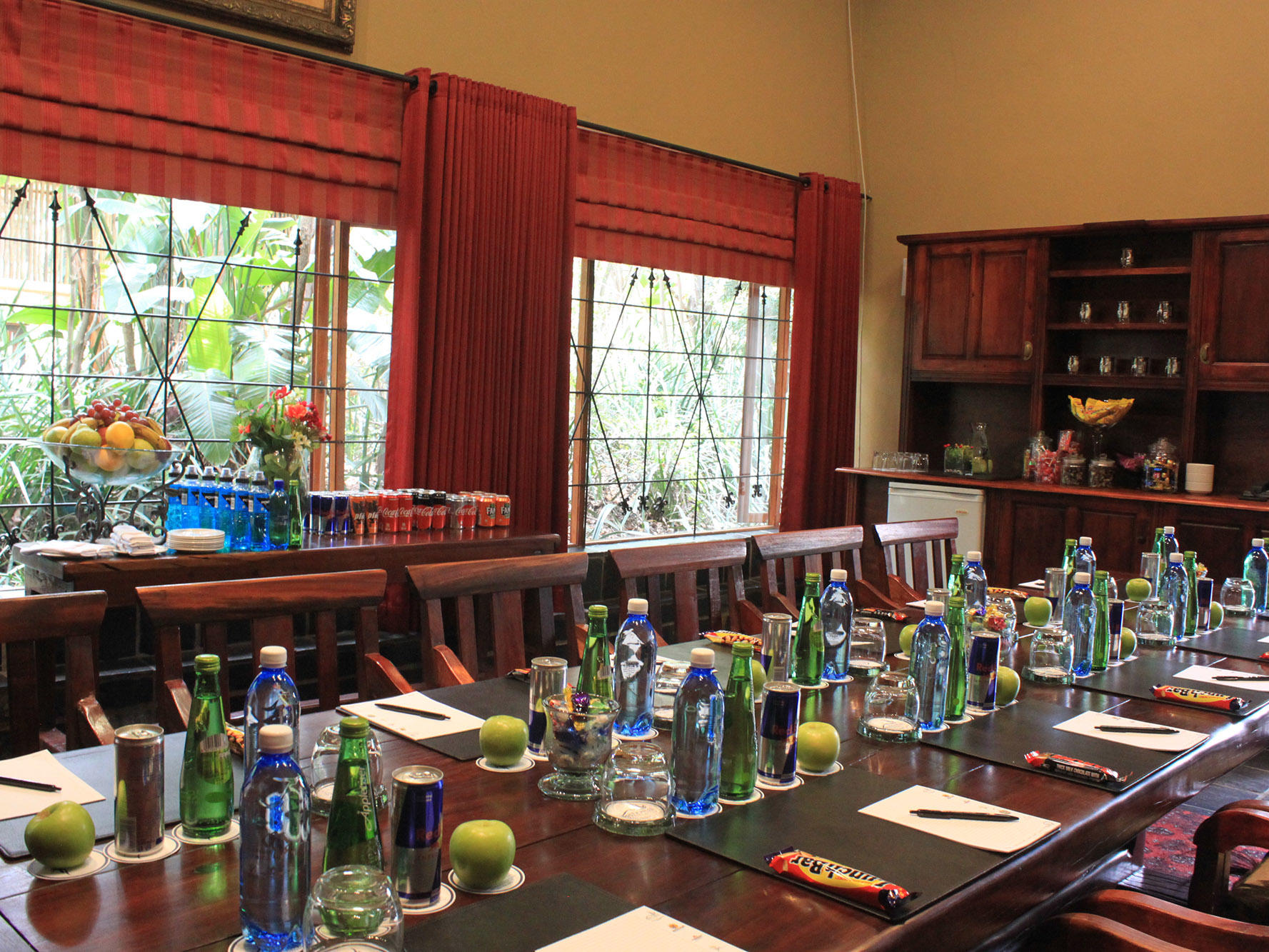 Conference in Boardroom set-up