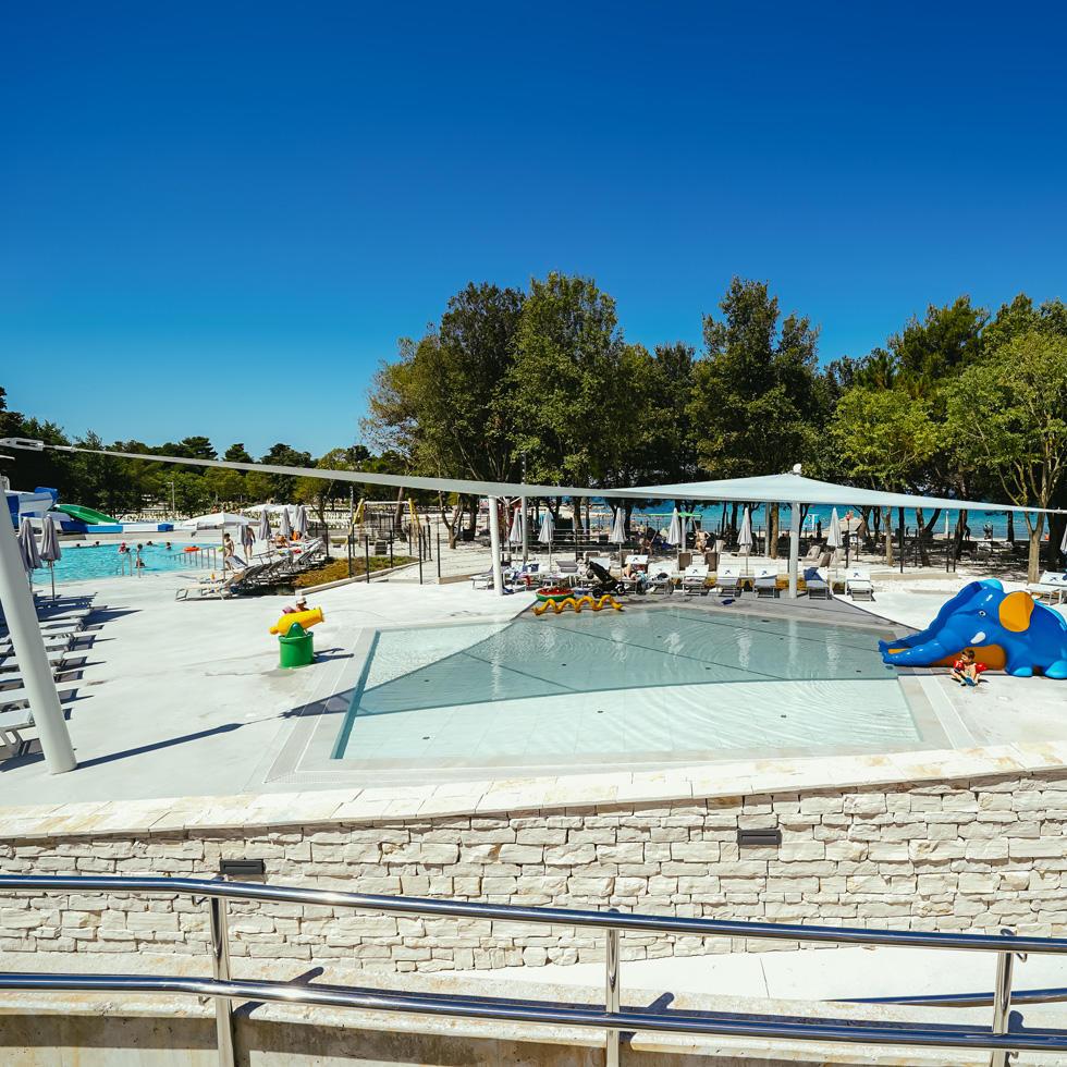 Pools at Falkensteiner Premium Camping Zadar
