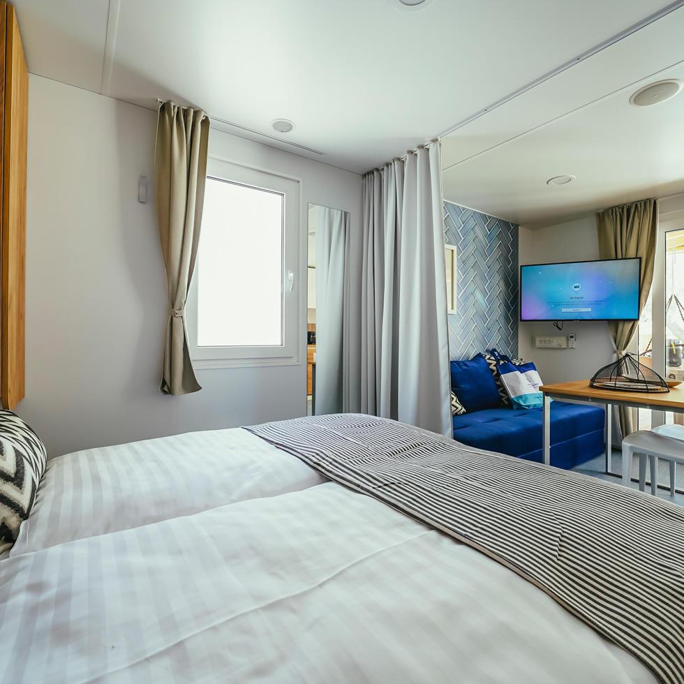 Camping Cozy Home Rooms at Falkensteiner Premium Camping Zadar