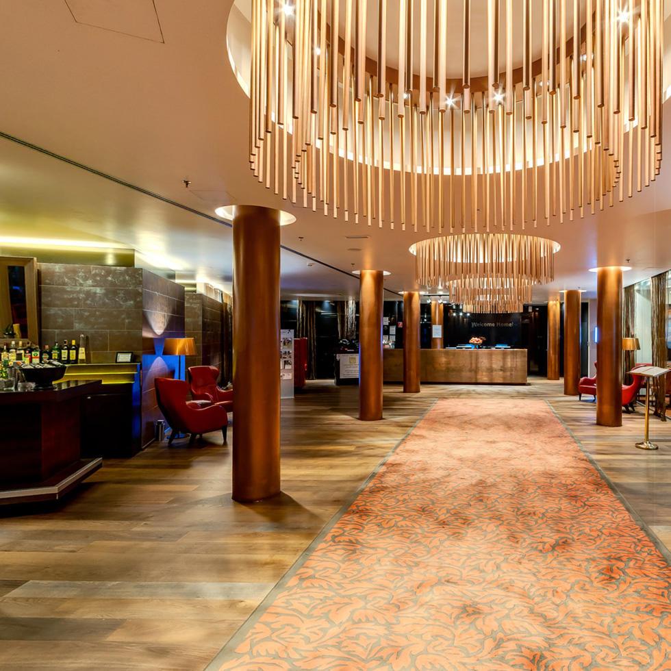Lobby at Falkensteiner Hotel Bratislava