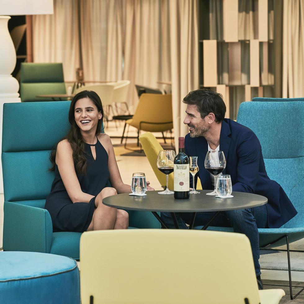 Level 0 Lounge at Falkensteiner Hotel Montenegro