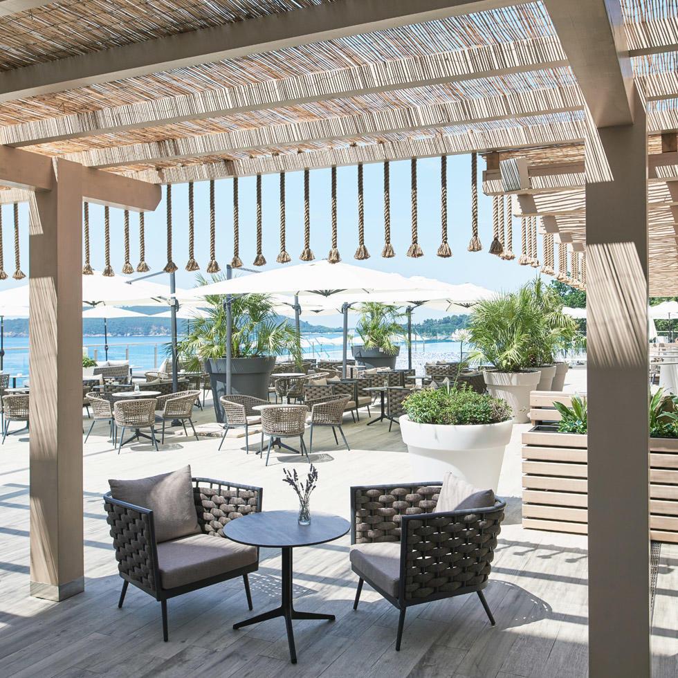 Level 0 terrace at Falkensteiner Hotel Montenegro