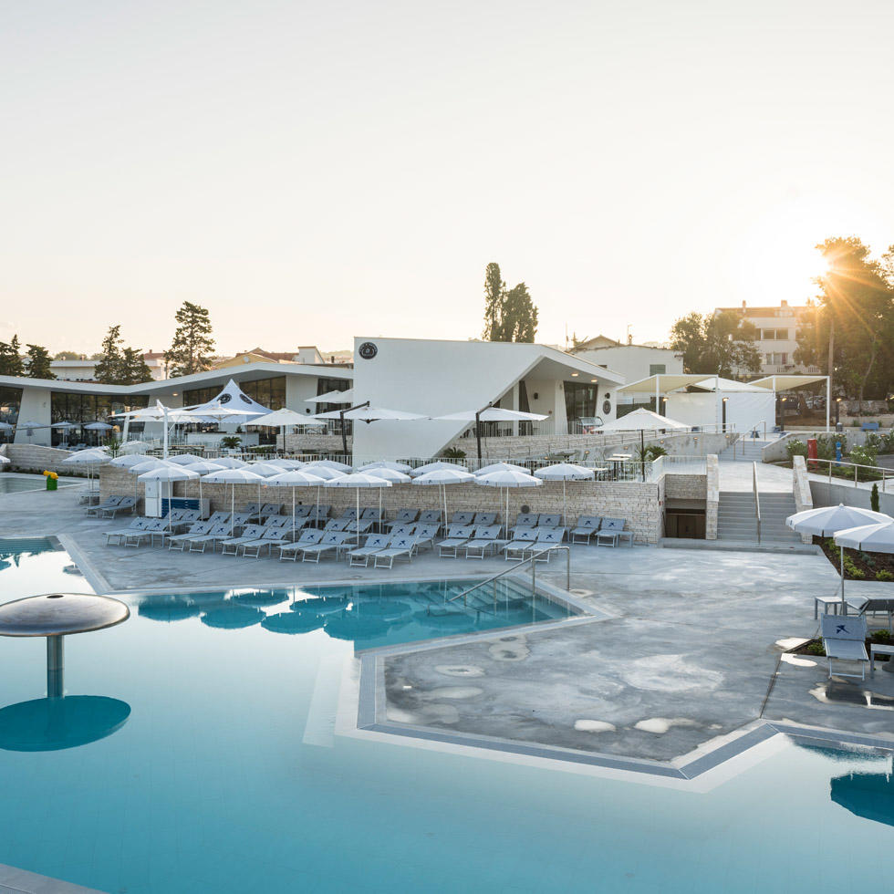 Pools at Falkensteiner Premium Camping Zadar