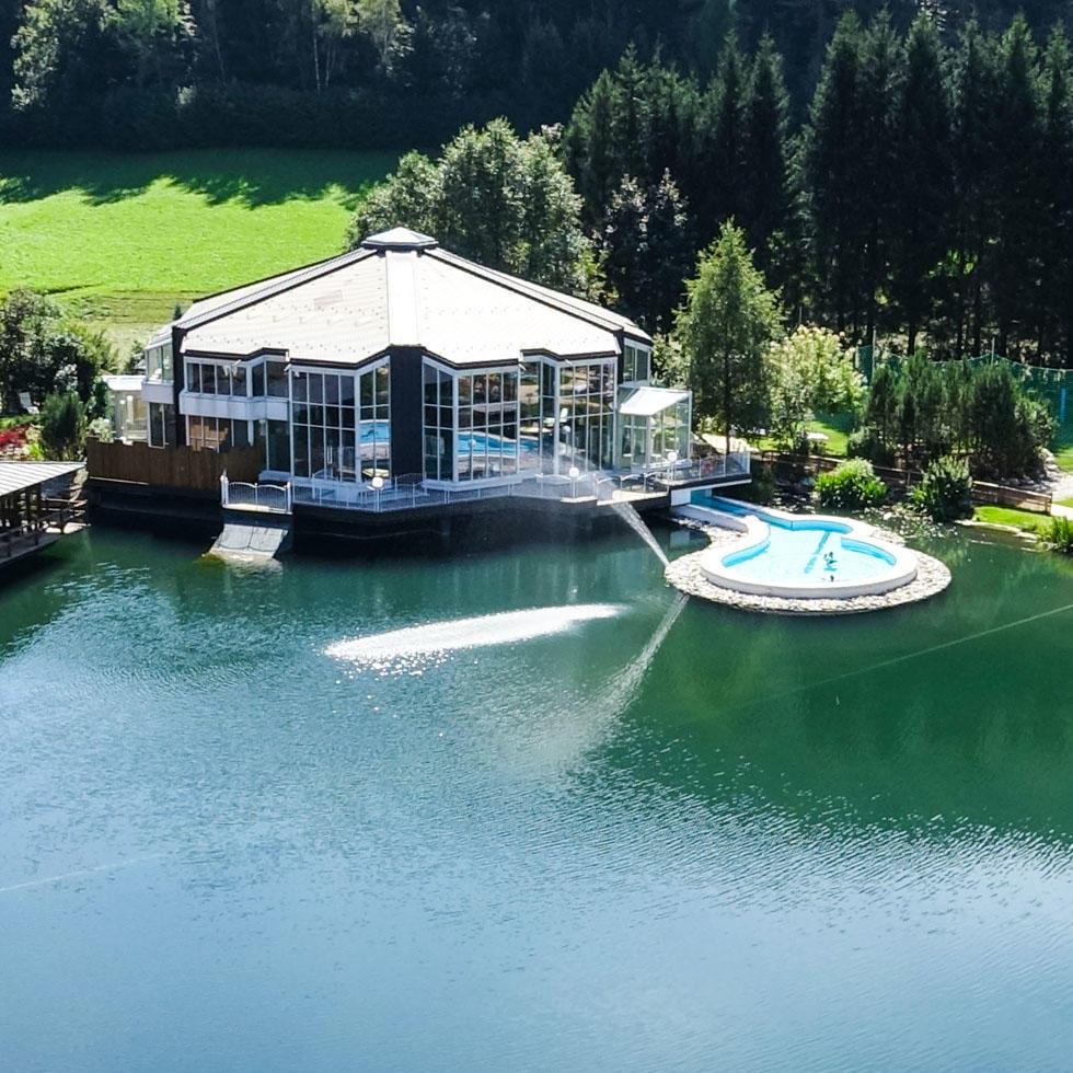 Lake at Falkensteiner Hotel Lido Ehrenburgerhof