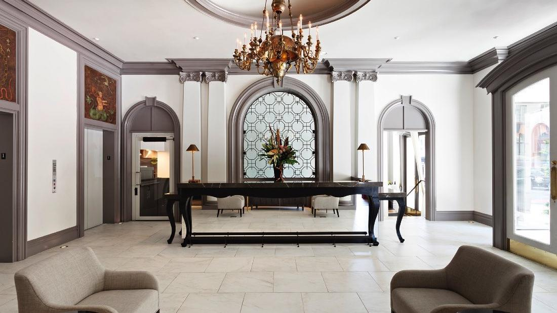 Warwick San Francisco Lobby