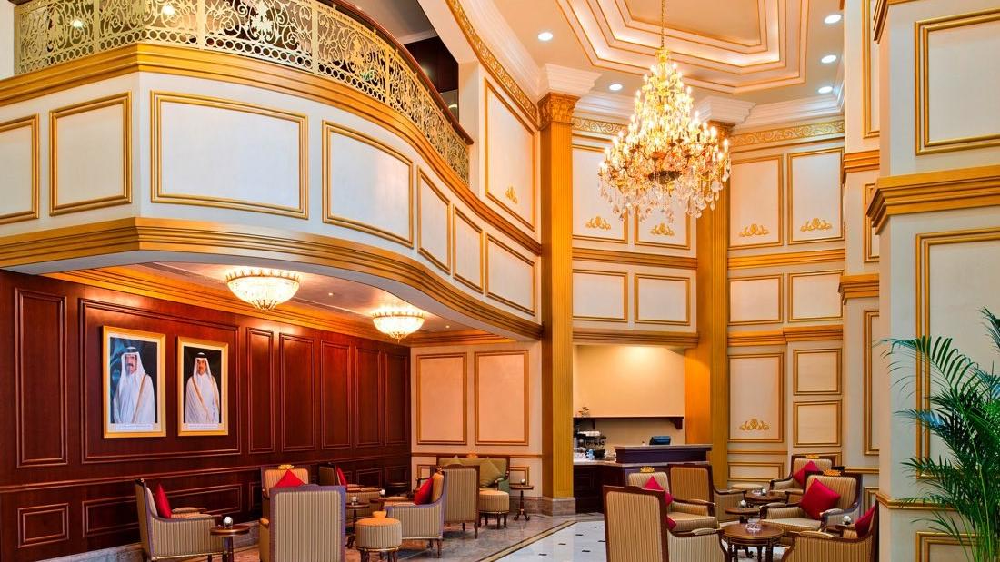 Warwick Doha Lobby Right hand-side