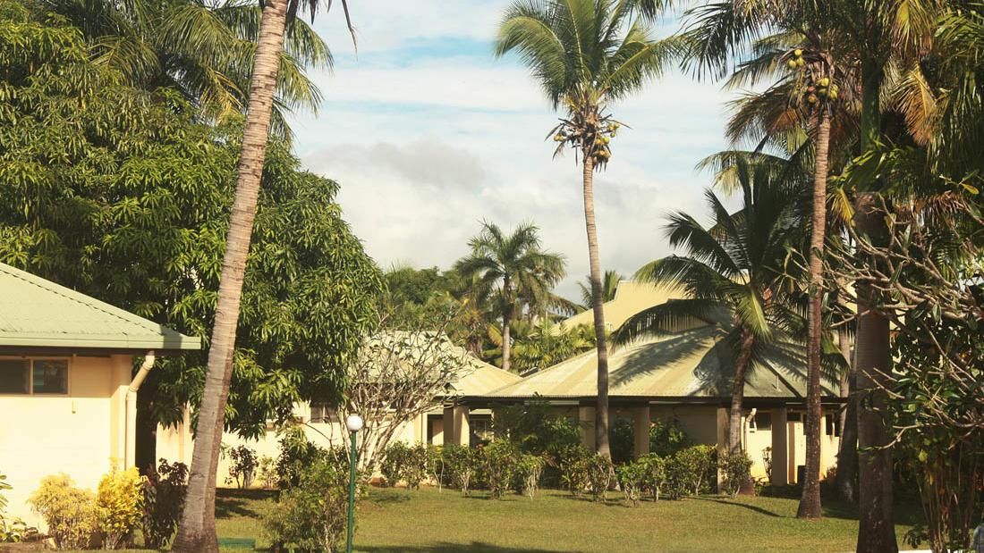 Outside at Tokatoka Resort