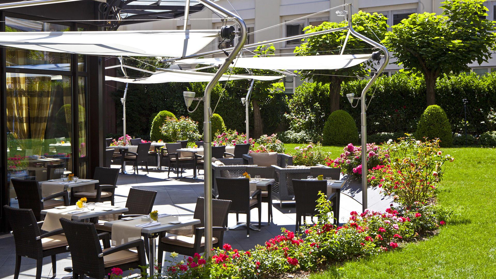 Terrace with Garden