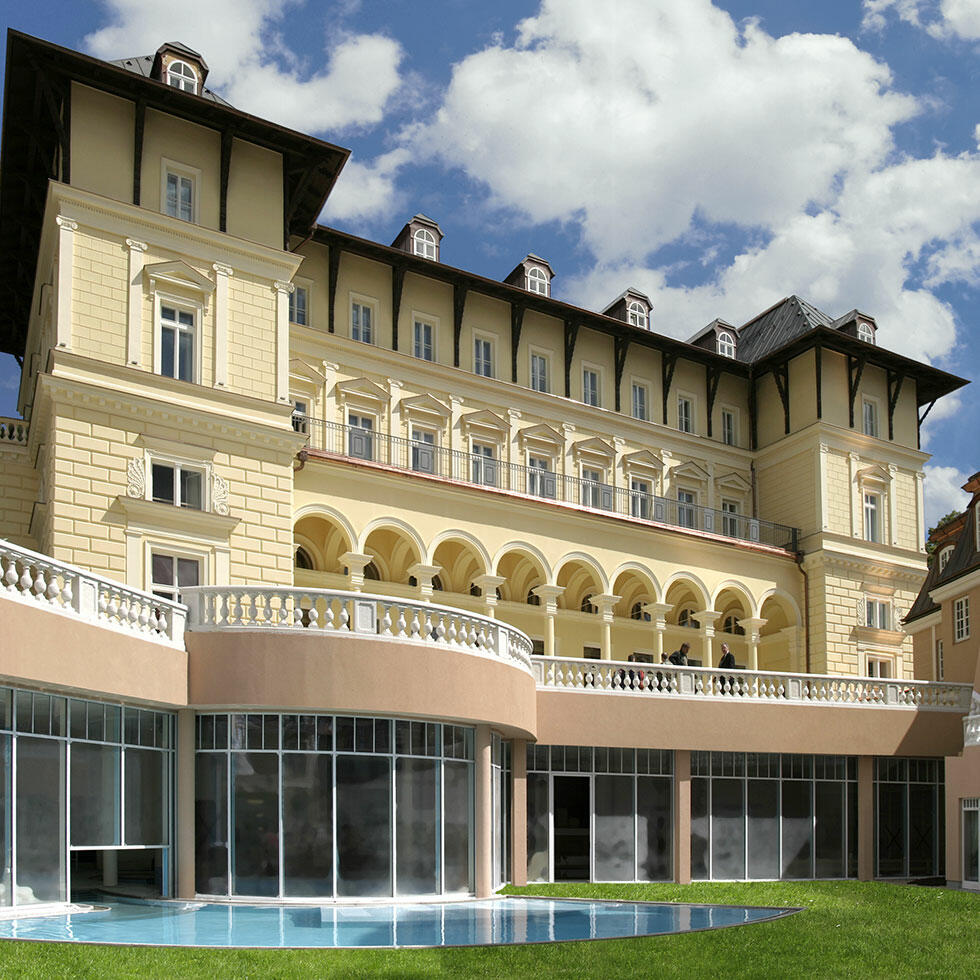 Exterior View Of The Falkensteiner Spa Resort Mariánské Lázně
