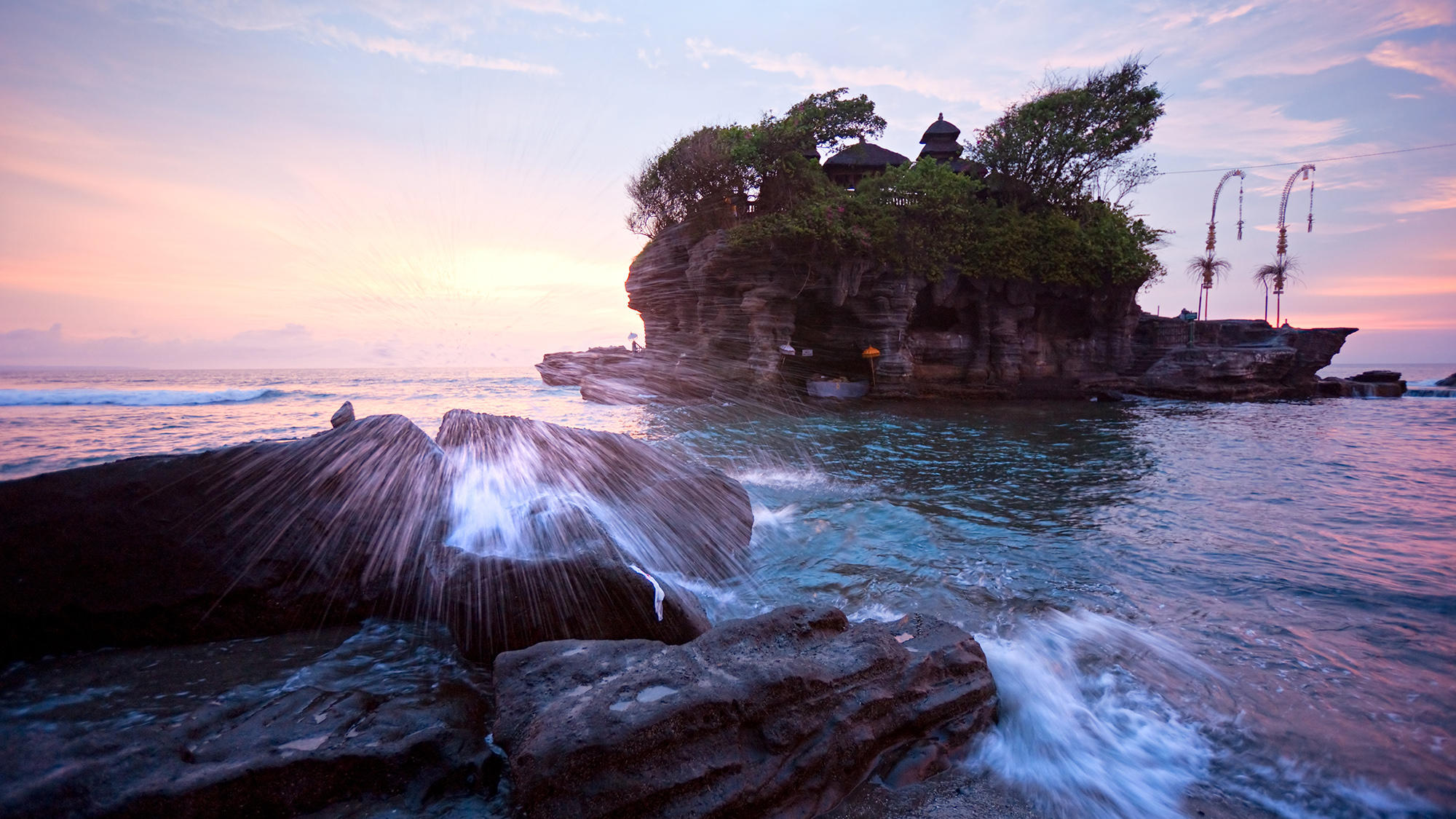 Bali island and sea
