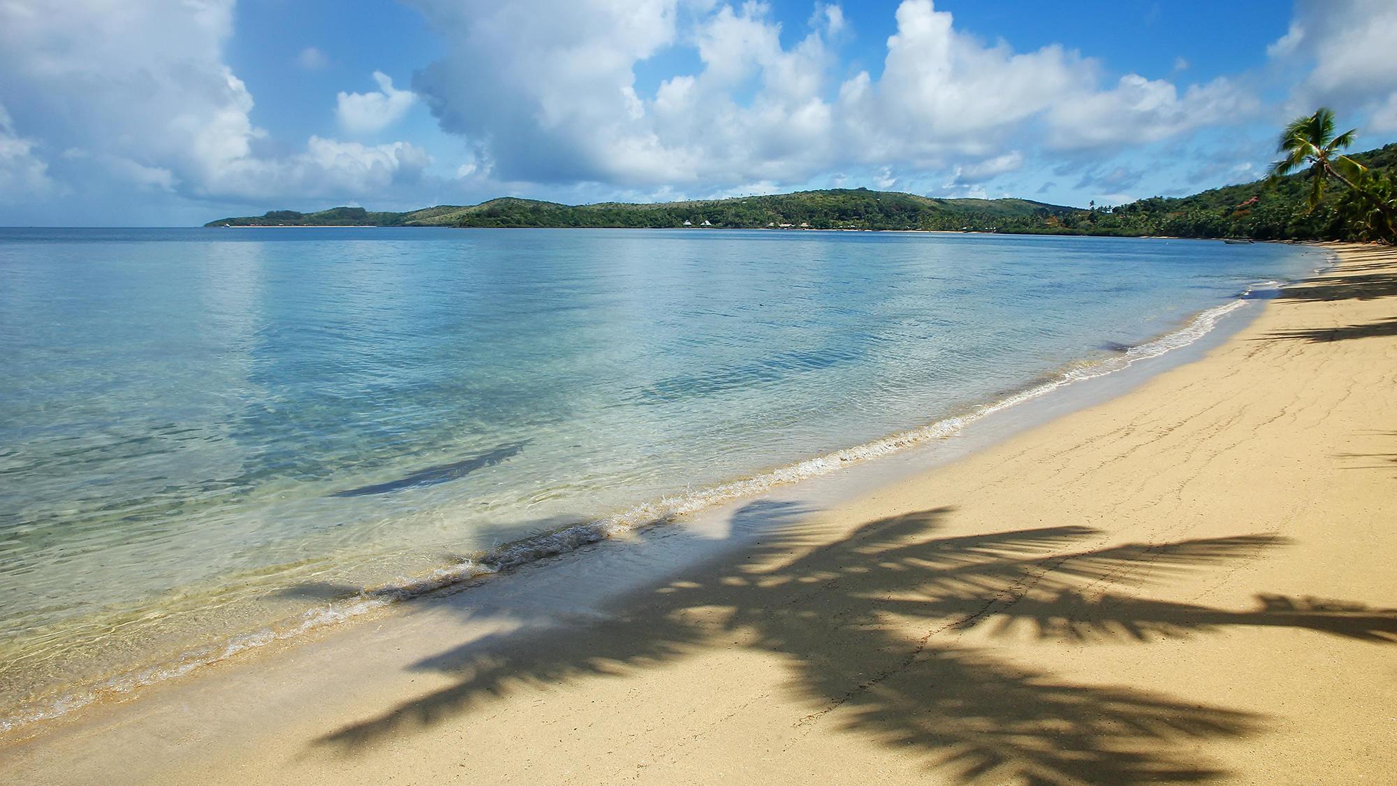 fiji sand beach