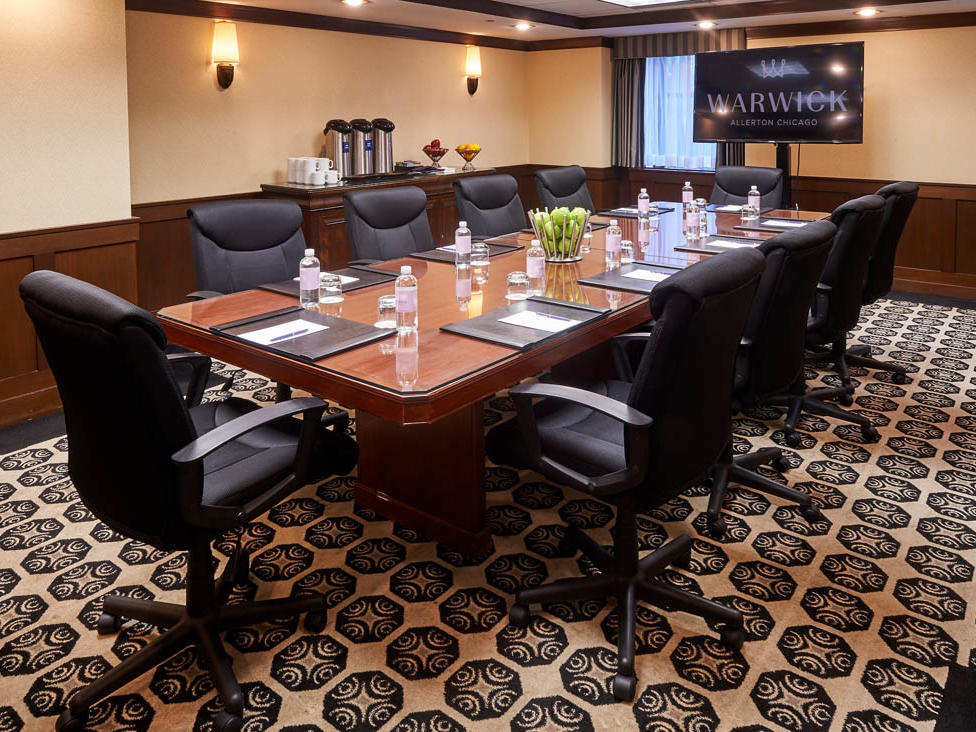 Burnham Meeting Room Warwick Allerton Chicago