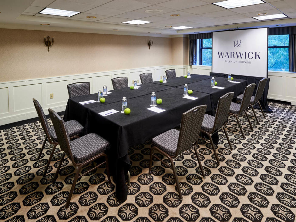 Sullivan Meeting Room Warwick Allerton Chicago