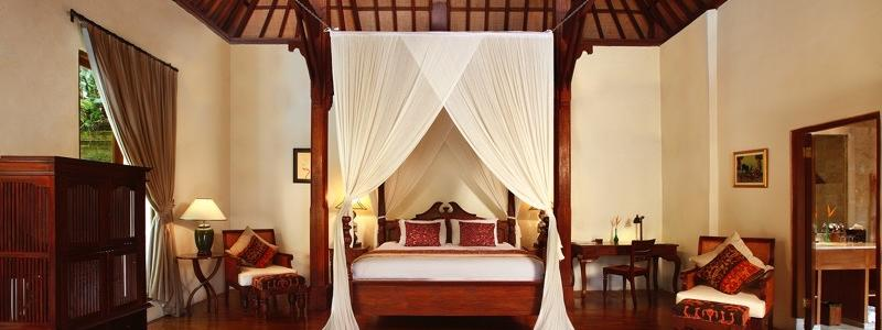 One-Bedroom Pool Villa Bedroom at Warwick Ibah