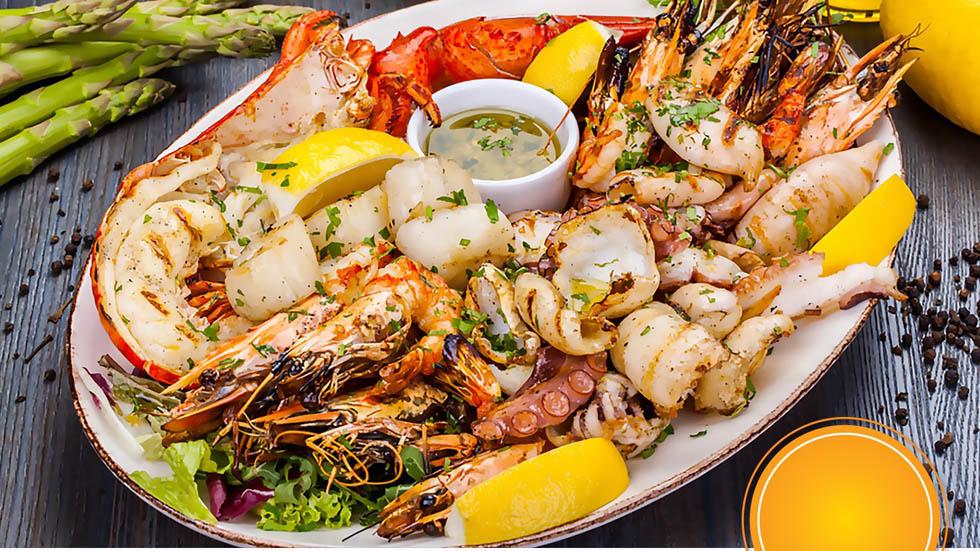 Seafood night Nevine Abdel Shahied