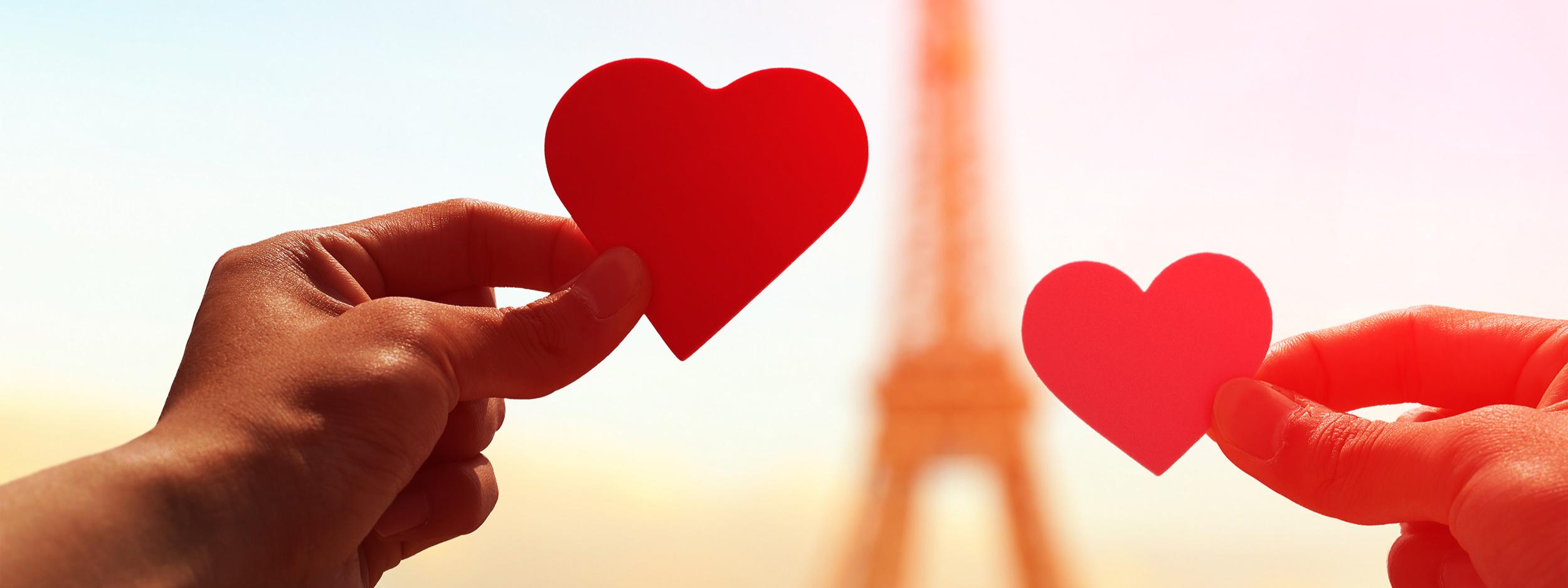 Romance in Paris Eiffel Tower