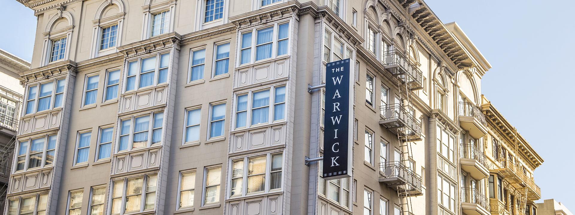 Warwick San Francisco Hotel Facade