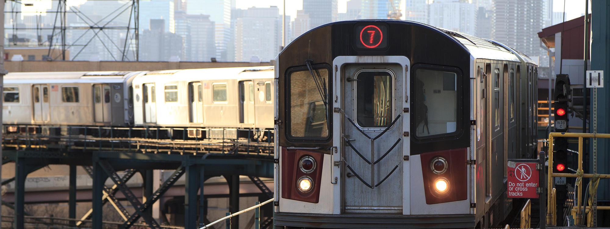 NYC Subway 7