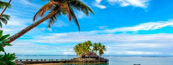 Monish Gounder Warwick Fiji Beach
