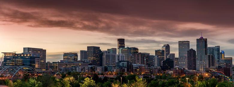 Denver Skyline at Warwick Denver