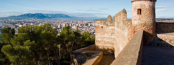 The Alcazaba and Gibralfaro Castle