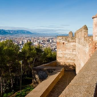 The Alcazaba and Gibralfaro Castle