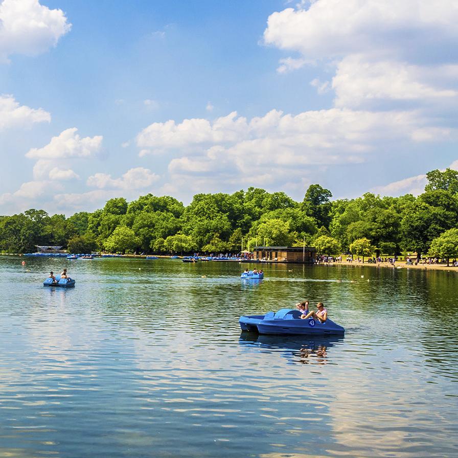 Hyde Park Lake