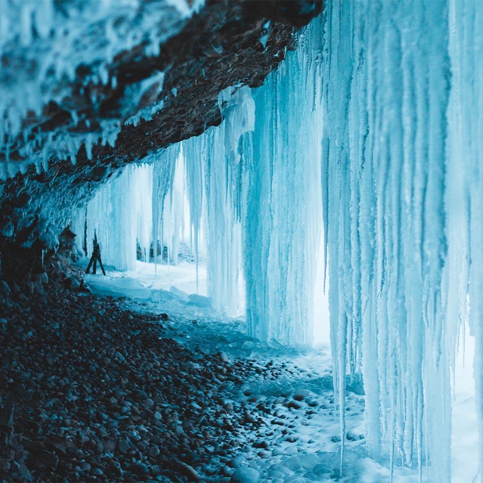 Eisriesenwelt Ice Cascade near Falkensteiner Hotel Schladming