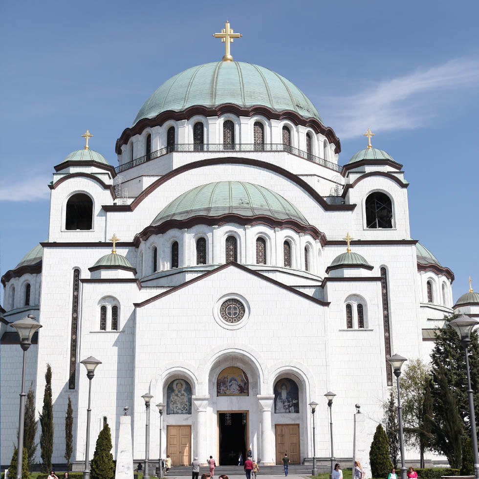 Church of Saint Sava near Falkensteiner Hotels and Residences
