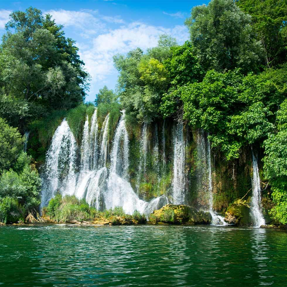 National Park Krka Waterfall near Falkensteiner Hotels and Residences