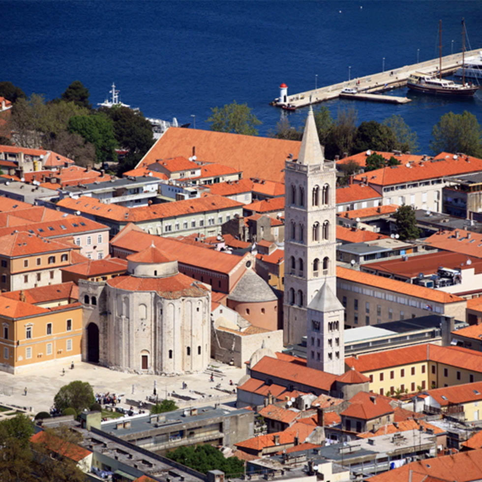 View of Zadar near Falkensteiner Hotels and Residences