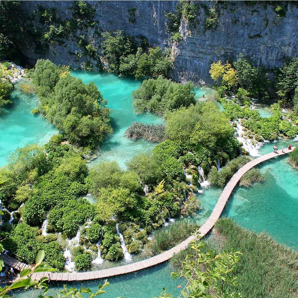 National Park Plitivice Lakes near Falkensteiner Hotels and Residences