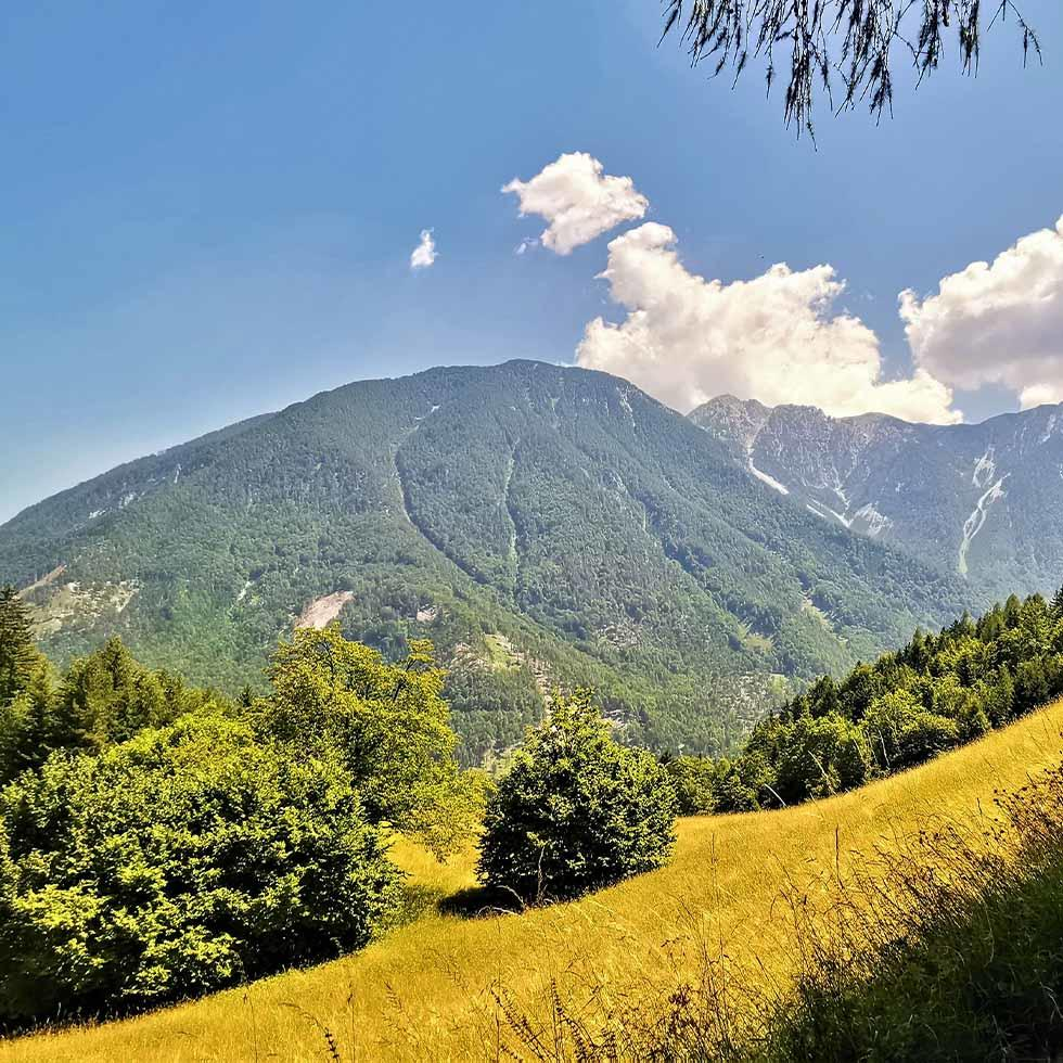 Mountain at Carnica Region Rosental near Falkensteiner Hotels and Residences