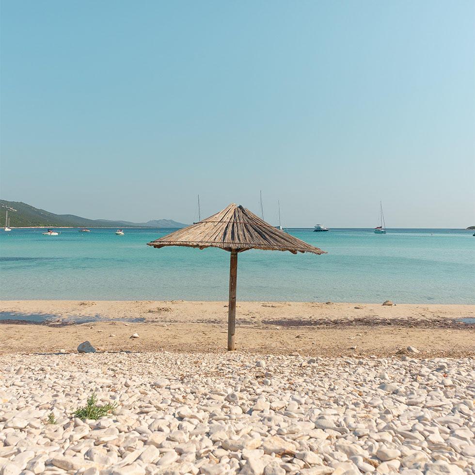 Beach in Budva near Falkensteiner Hotels and Residences