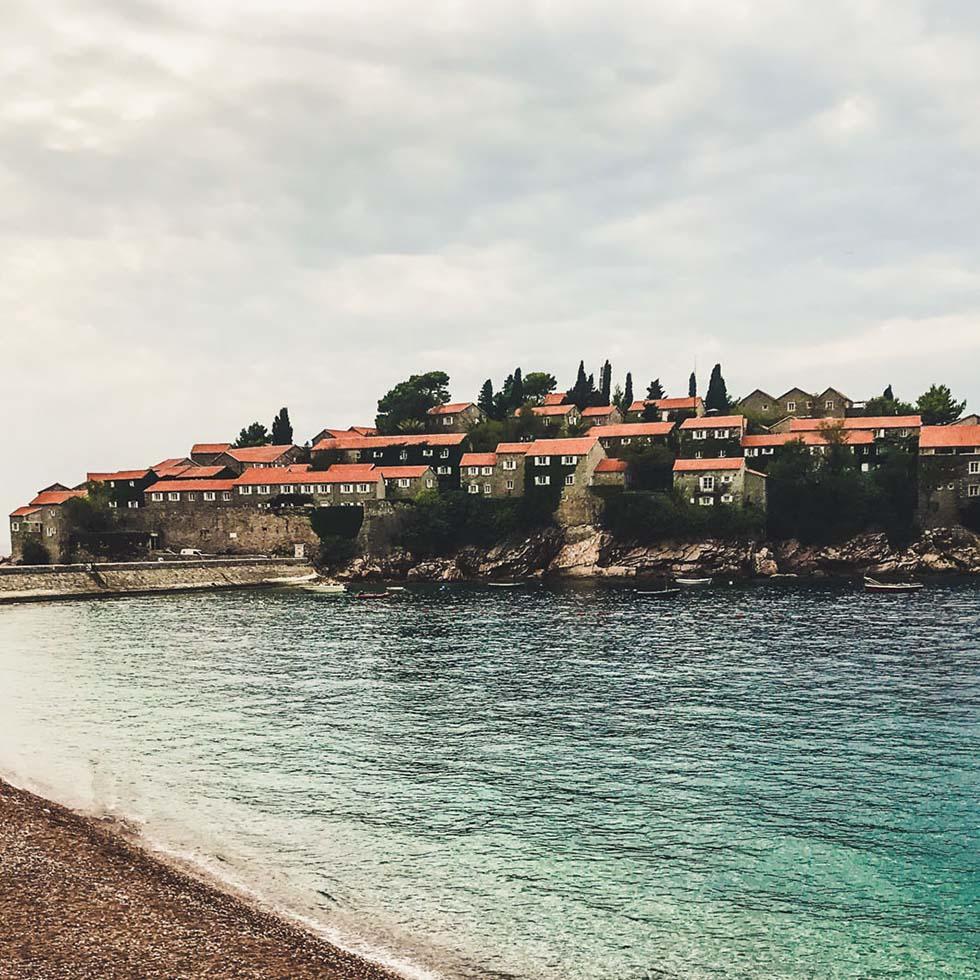 View of Sveti Stefan near Falkensteiner Hotels and Residences