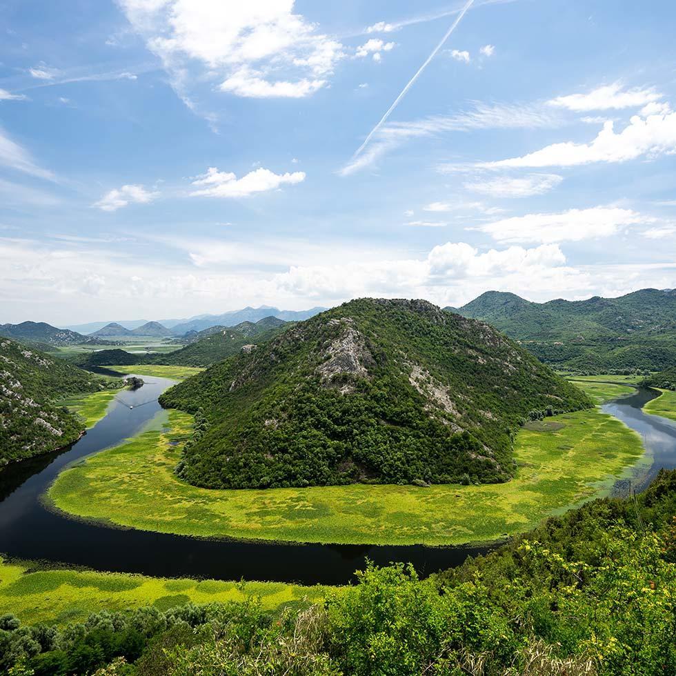 Lake Skadar National Park near Falkensteiner Hotels and Residences
