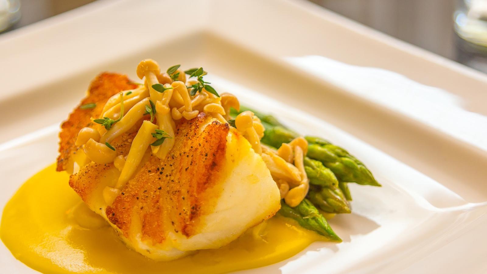 Landmark Restaurant Plate Fish