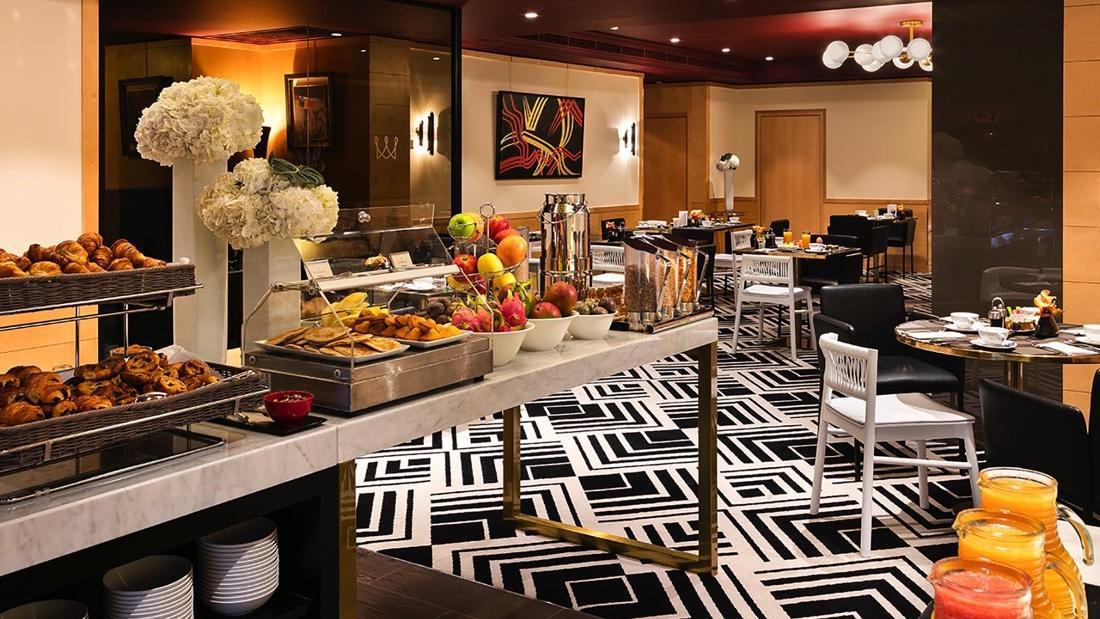 Restaurant Le W Breakfast