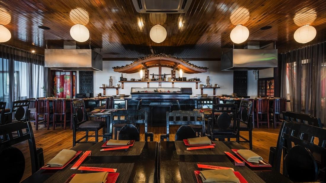 Sazanami Japanese restaurant at Warwick Fiji