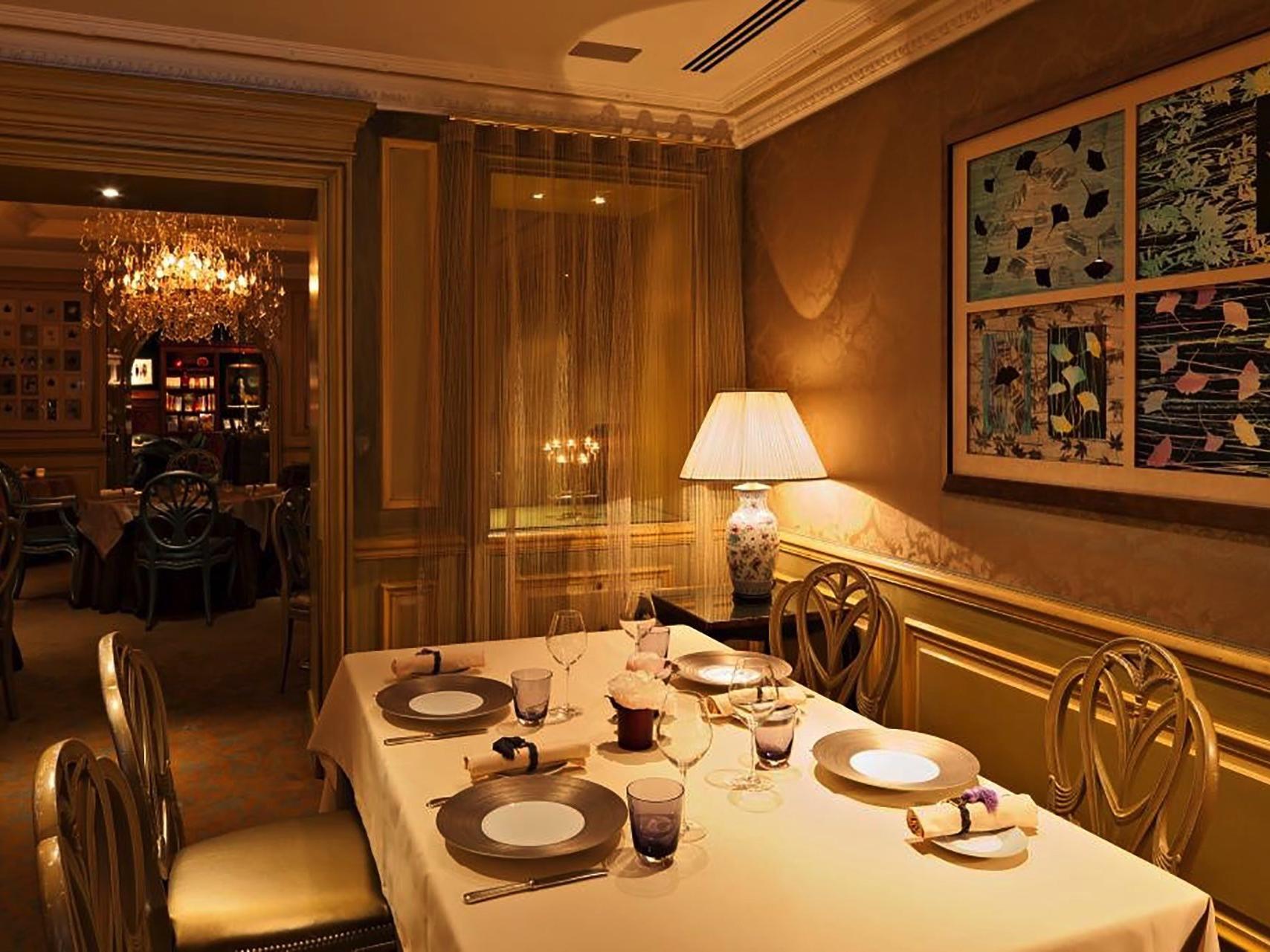 Restaurant Le Celadon at Hôtel Westminster