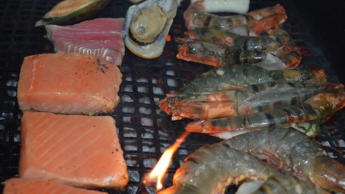 Seafood night at Warwick Doha