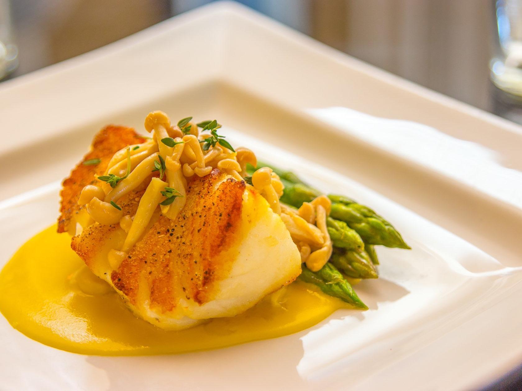 Fish Dish at The Landmark Restaurant