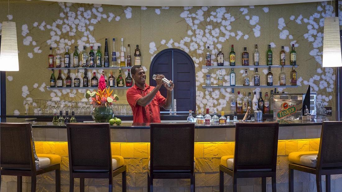 Wild Ginger Bar at Warwick Le Lagon Vanuatu