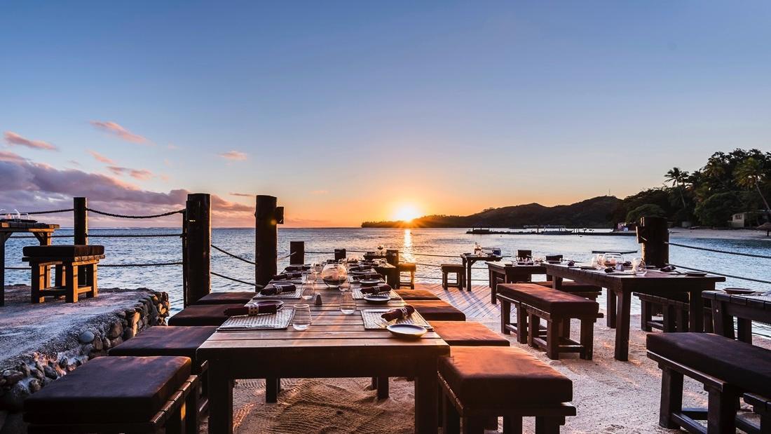 Wicked Walu Sunset Terrace at Warwick Fiji