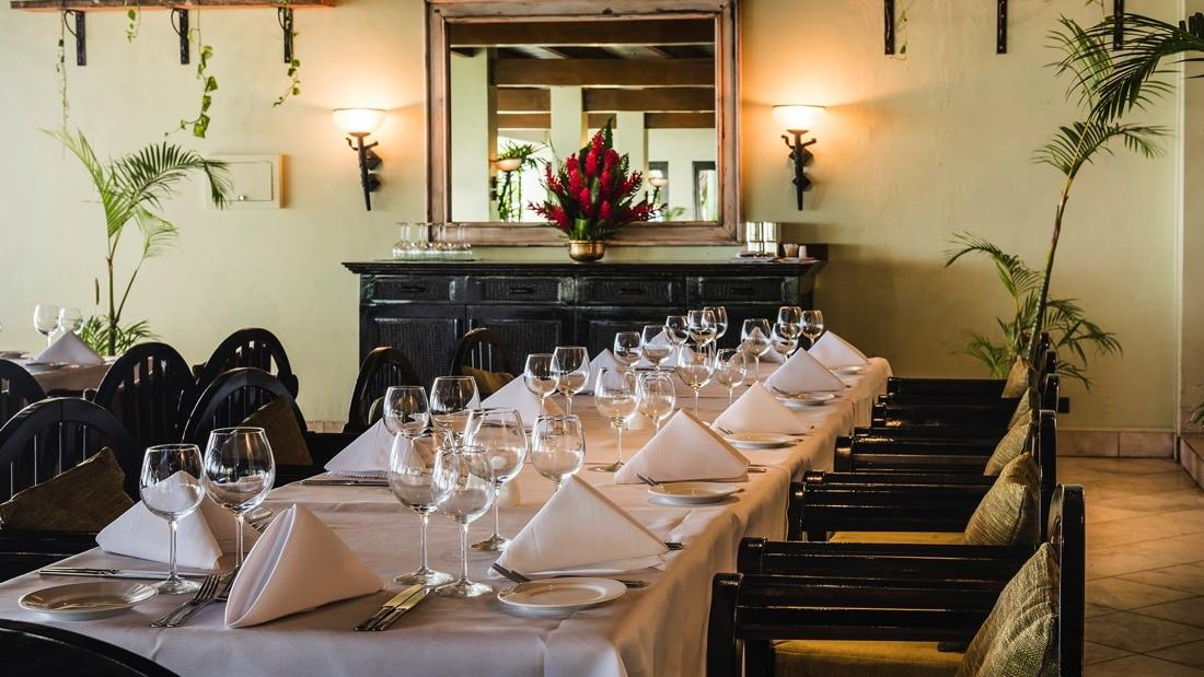 Pappagallo Italian Restaurant at Warwick Fiji