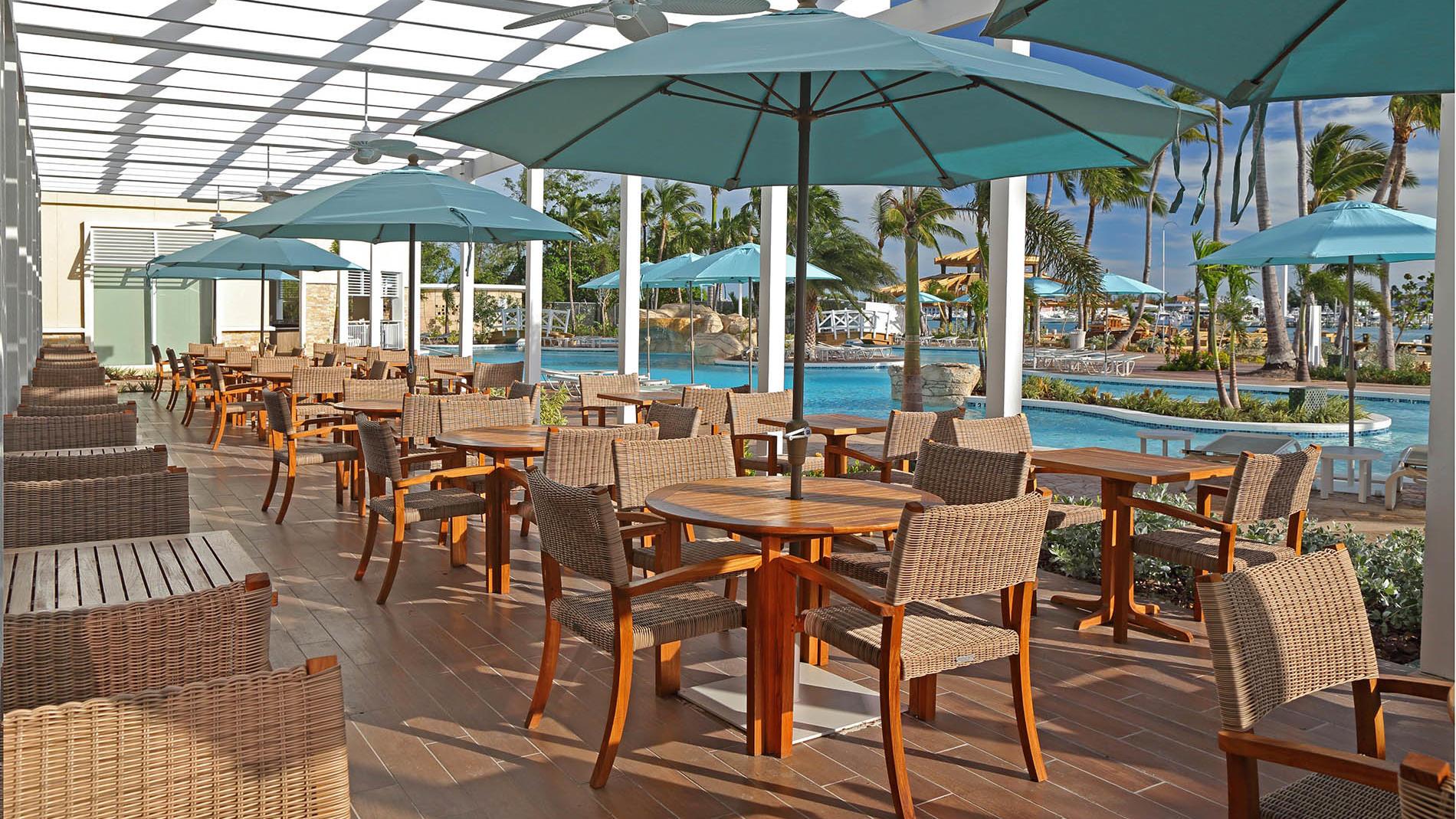 Verandah Restaurant at Warwick Paradise Island Bahamas